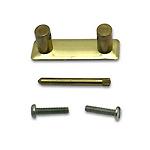 Handle Loop, Brass Plate, 34.9mm x 15.9mm