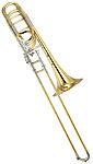 Yamaha YBL-830 Xeno - Gold Brass Bass Trombone