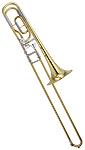 Yamaha YSL-640 - Bb/F Trombone