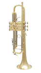 Bach Stradivarius 37L 180ML - Gold Brass Bb Trumpet