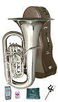Besson Sovereign 982S Silver Plate - 4 Valve Tuba