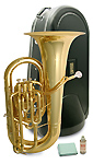 Jupiter JTU-1020 Lacquer - 4 Valve Compact Tuba
