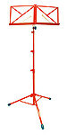 TGI Music Stand with Bag - Red