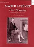 Lefevre Sonatas (5) ed Davies & Harris Clarinet