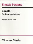 Poulenc Sonata Flute & Piano