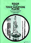 Solos For The Tenor Saxophone Player Teal