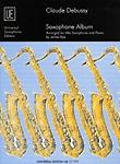 Debussy Saxophone Album Rae Alto Sax & Piano