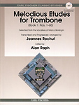 Melodious Etudes For Trombone Book 1 Rochut + Cd
