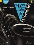 Jazz Method Saxophone Eb Alto ONeill Book & Cd