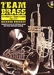 Team Brass Trombone/Euphonium Bass Clef Book & Cd