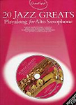 Guest Spot 20 Jazz Greats Alto Sax Book & Cd