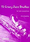 15 Crazy Jazz Studies Gumbley Solo Sax