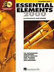 Essential Elements 2000 Bk 1 Trombone Bc + Backing Track Downloads