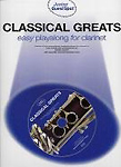 Junior Guest Spot Classical Greats Clarinet Bk&Cd