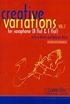 Creative Variations Vol 2 Sax/Pf Miles/Wilson + Cd