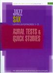 Jazz Sax Quick Studies & Aural Tests 1-3 Abrsm