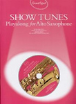 Guest Spot Show Tunes Alto Saxophone Book & Cd