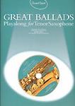 Guest Spot Great Ballads Tenor Saxophone