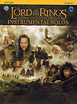 Lord Of The Rings Trilogy Solos Alto Sax Book & Cd