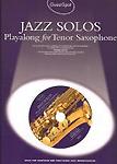 Guest Spot Jazz Solos Tenor Saxophone Book & Cd