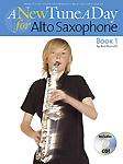 New Tune A Day Alto Sax Book & Cd
