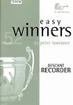 Easy Winners Lawrance Descant Recorder Book & Cd