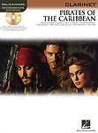 Pirates Of The Caribbean Clarinet Book & Cd