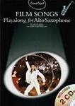 Guest Spot Film Songs Alto Saxophone Book & 2 Cds
