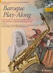 Baroque Play Along Alto Sax Book/Cd