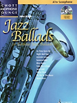 Jazz Ballads Alto Book & Cd Saxophone Lounge