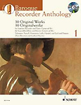 Baroque Recorder Anthology 1 Soprano Book & Cd