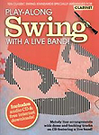 Play Along Swing With A Live Band Clarinet + Cd