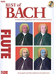 Bach Best Of Flute Book & Cd