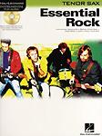 Essential Rock Instrumental Play Along Tenor Sax + CD