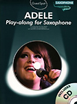 Guest Spot Adele Alto Saxophone Book & Cd