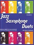Jazz Saxophone Duets Fishman Vol 2 Book & 3 Cds