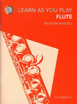 Learn As You Play Flute Book & Cd Wastall