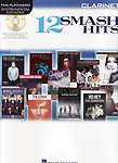 12 Smash Hits Instrumental Play Along Clarinet + Cd