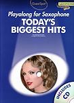 Guest Spot Todays Biggest Hits Alto Sax Book & Cd