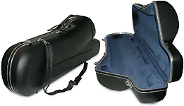 Winter 2000 Baritone Sax Case - Black