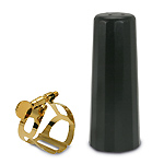 BG Tradition Tenor Sax Gold Plated Lig and Plastic Cap
