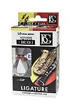 BG LD Duo Alto Saxophone or Bb Clarinet Ligature and Cap