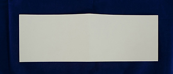 Synthetic Sheet Felt - 100x300x0.9mm White
