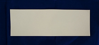 Sheet Felt - 100x300x1.2 mm thick hard pressed, white