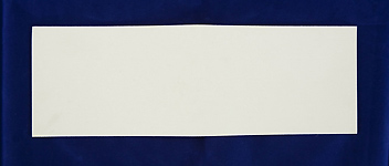 Synthetic Sheet Felt - 100x300x1.5mm White