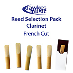Clarinet Reed Selection Pack - French Cut