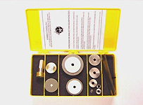 Rotary Tone Hole Refacing Kit Set (400 Grit)