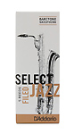 Select Jazz Baritone Saxophone Reeds Filed