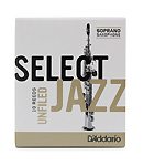 Select Jazz Soprano Saxophone Reeds Unfiled
