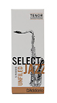 Select Jazz Tenor Saxophone Reeds Unfiled